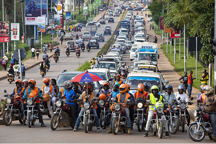 Ugandan government imposes strict guidelines for Boda Boda and taxis.