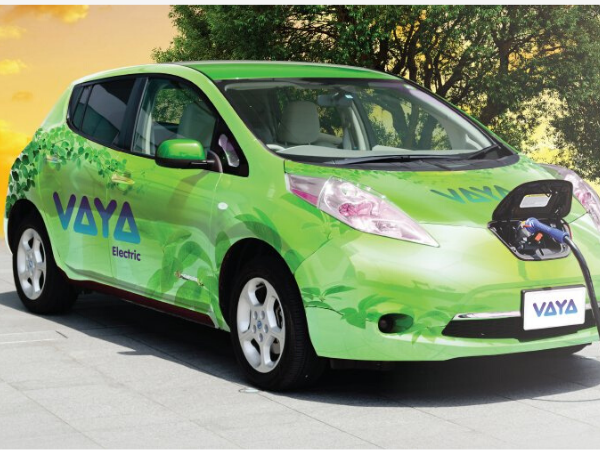 Vaya, Africa's Ride-hailing startup, rolls out electric taxi services.