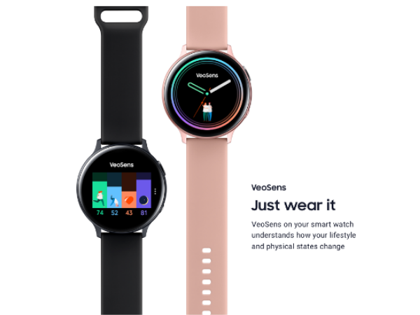 South Africa's LifeQ, Samsung rolls out VeoSens, wearable insurance, and health management solution.