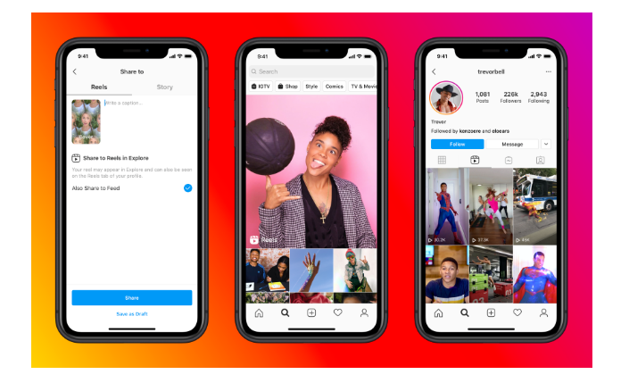 Instagram rolls out Reels for video creating and sharing to rival TikTok