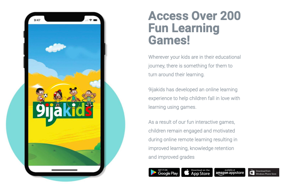 """Nigeria's Edu Tech Company, 9IJAKIDS to Support Guardians to help their Children """"LearnFromHome."""""""