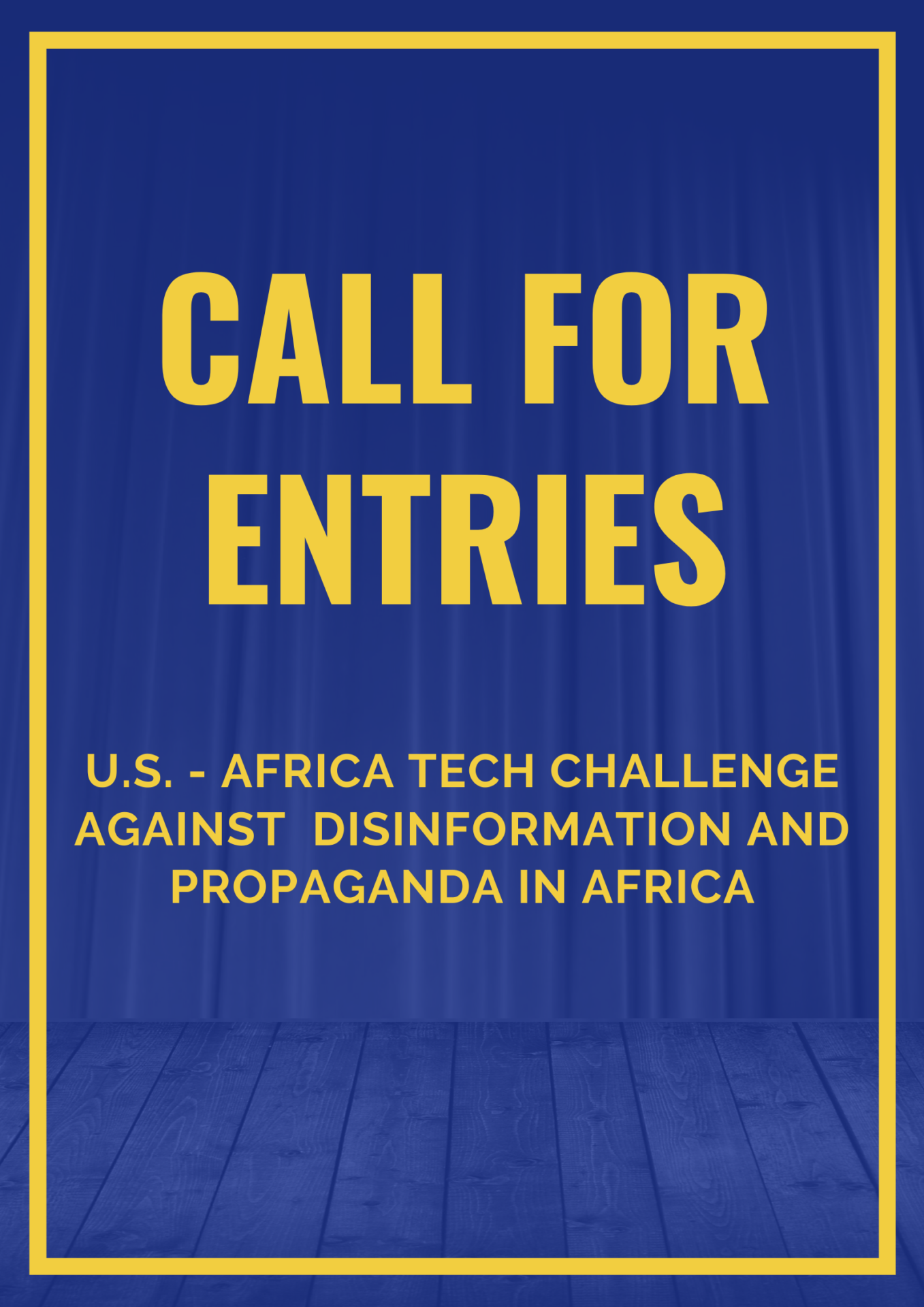 Call for Entries: African Tech Challenge Against Disinformation and Propaganda