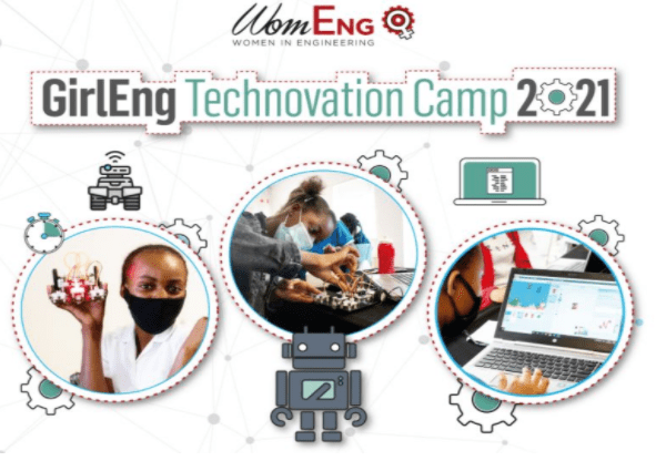 Young African Girls can apply for GirlEng Technovation Camp 2021