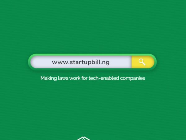 What's going on with the Nigeria Startup Bill?