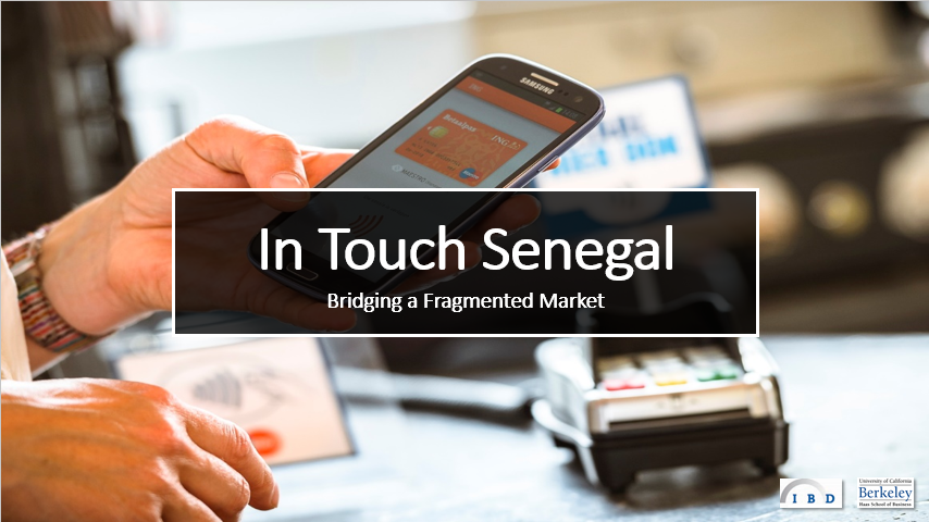 Senegalese Fintech Startup InTouch Secures Funding