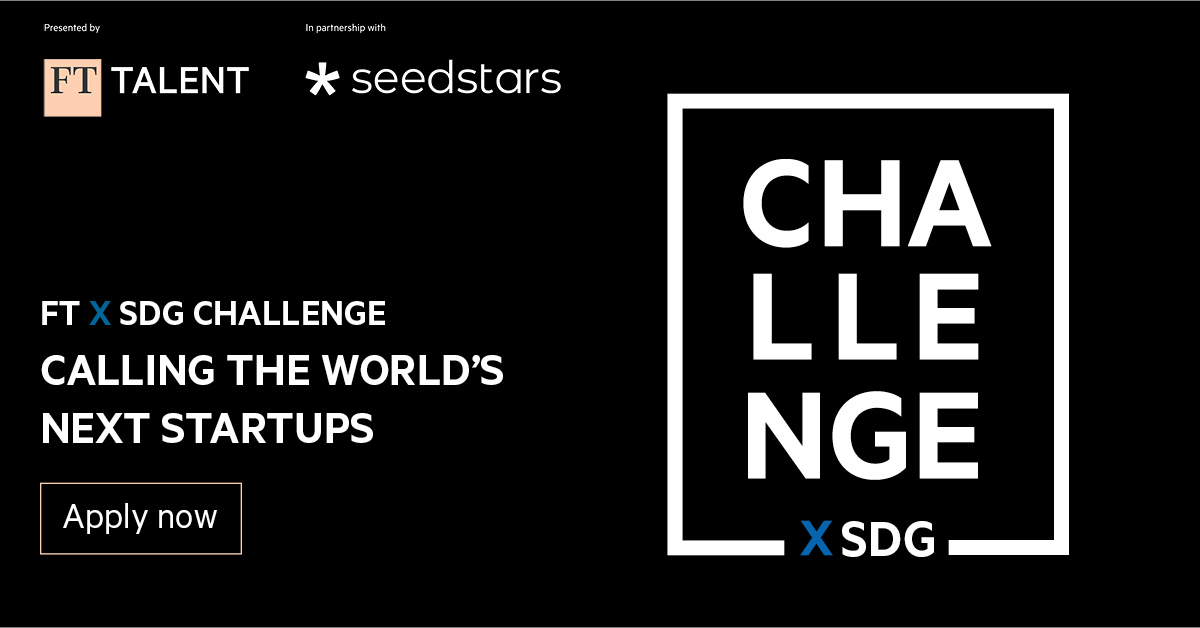 African Early-stage Startups Invited to Apply for FTxSDG's $500k Challenge